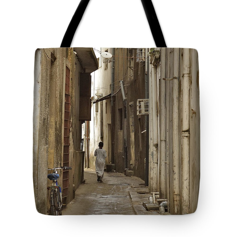 3scape Tote Bag featuring the photograph Stone Town by Adam Romanowicz