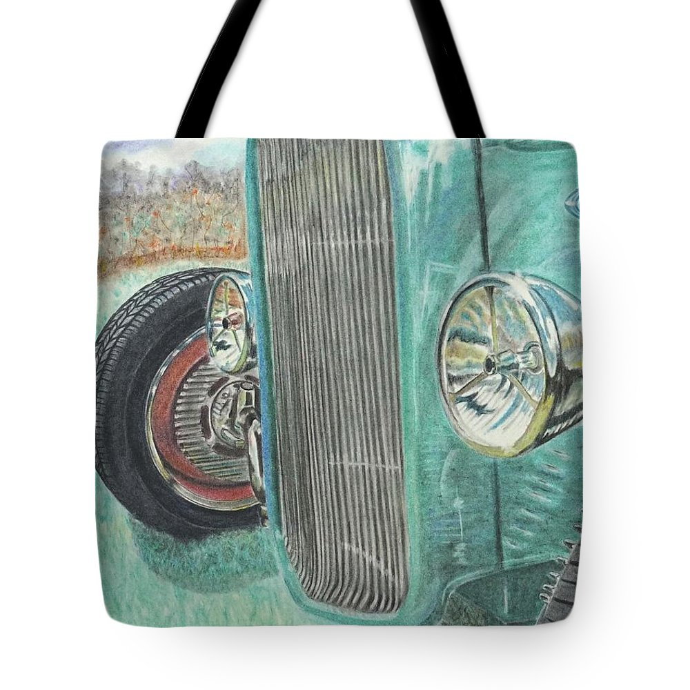 Wall Art Tote Bag featuring the pastel Sunday Best by Chris Naggy