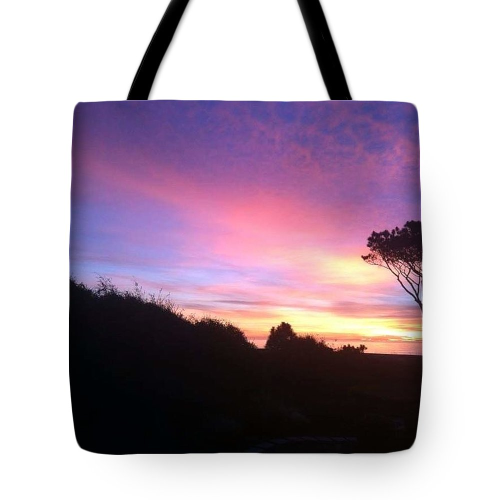 Landscape Tote Bag featuring the photograph Sunrise 5 by Michael Stothard