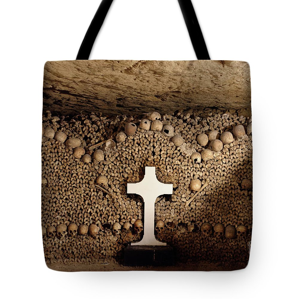 Catacombs Tote Bags