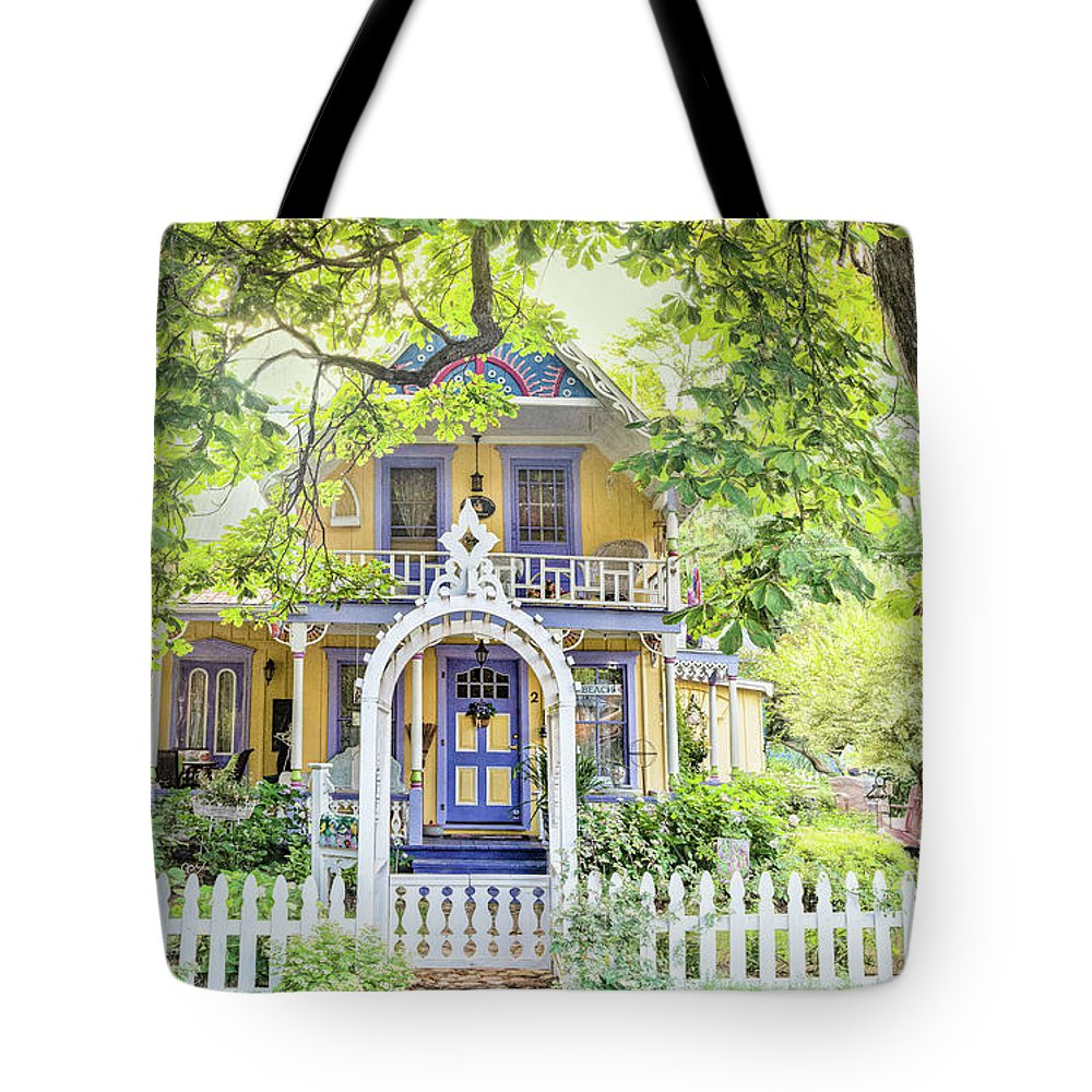 Grimsby Tote Bag featuring the photograph The Ford Cottage by Marilyn Cornwell