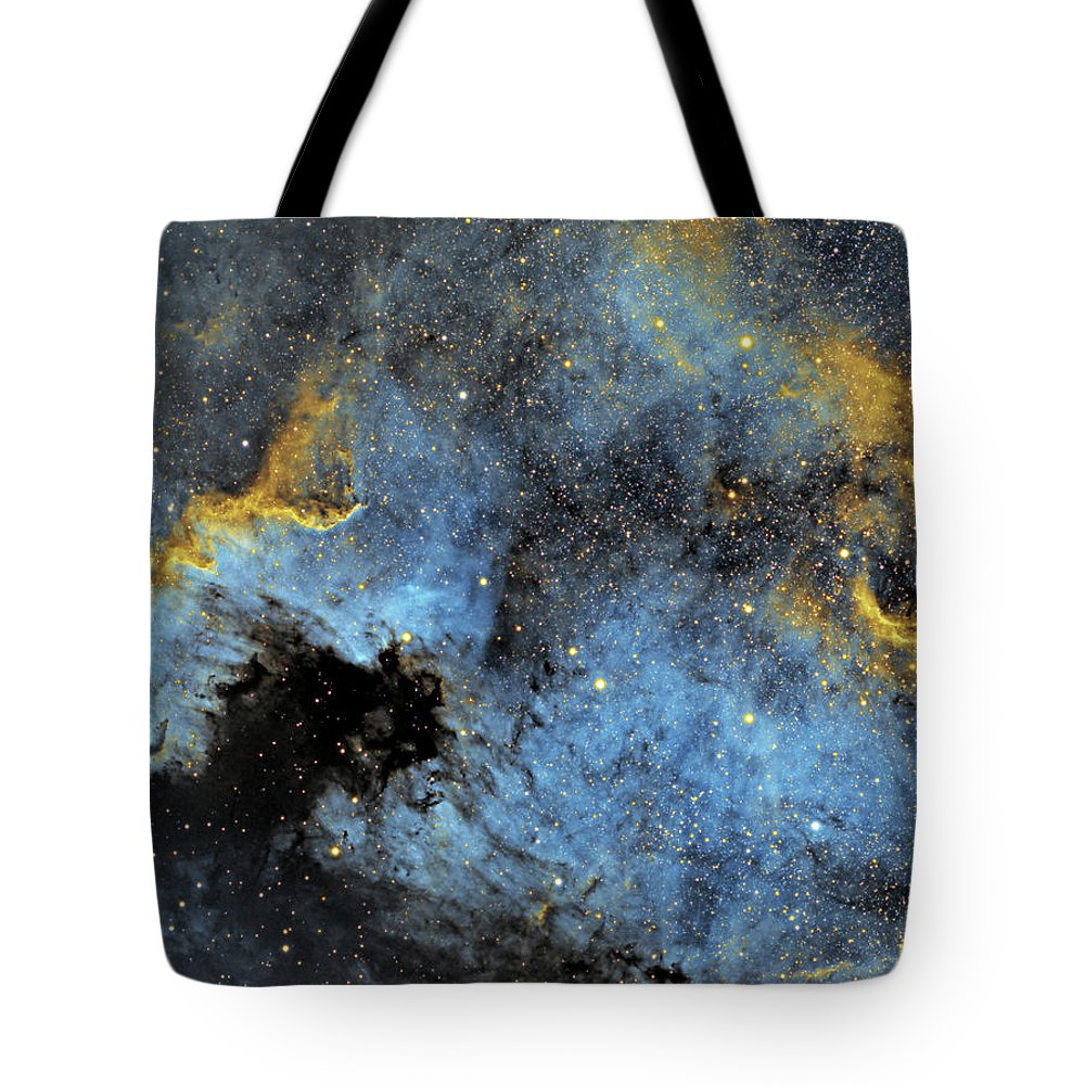 Nebula Tote Bag featuring the photograph The North America Nebula by Prabhu Astrophotography