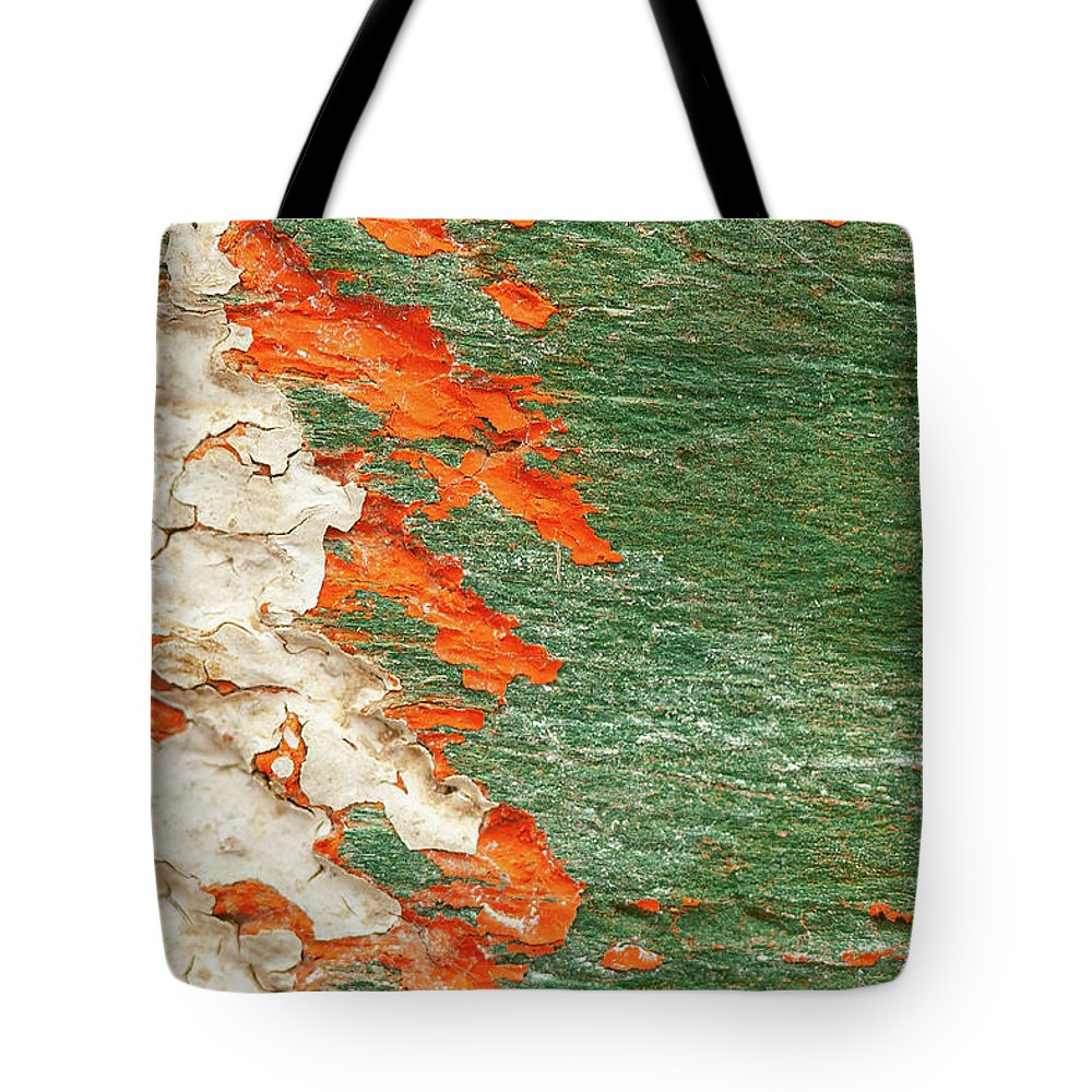 Rust Tote Bag featuring the photograph The Spaces Between - II by Marilyn Cornwell