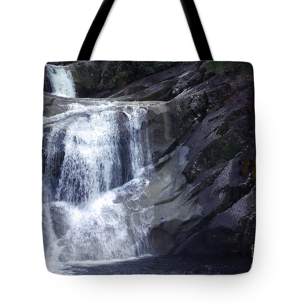 Tropical Tote Bag featuring the photograph Top End Flow - Josephine Falls by Kerryn Madsen- Pietsch