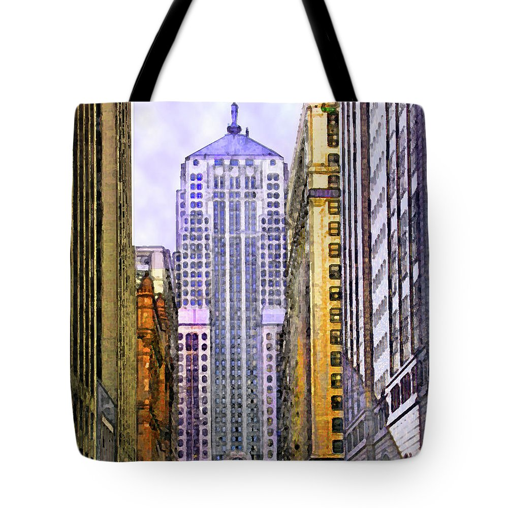 Trading Places Tote Bag featuring the digital art Trading Places by John Robert Beck