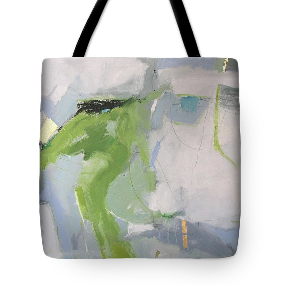 Treasure Tote Bag featuring the painting Treasure by Chris Gholson