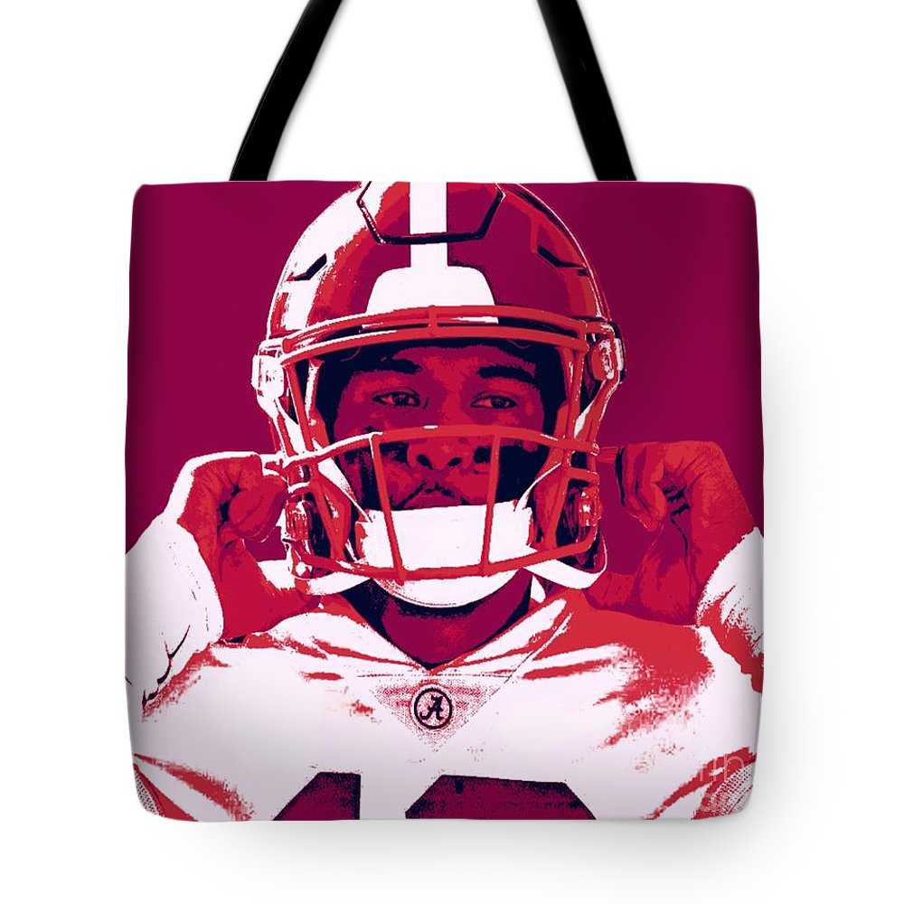 Tua Tote Bag featuring the painting Tua by Jack Bunds