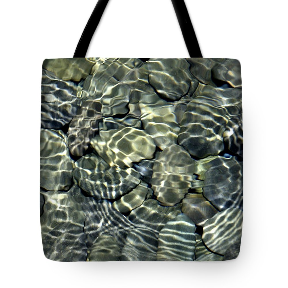 Water Tote Bag featuring the photograph Water Rocks 2 by Andre Aleksis