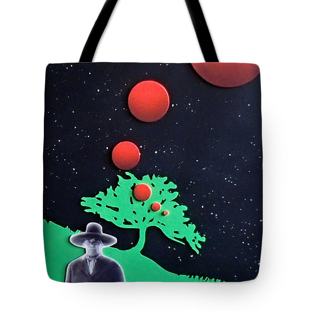 Wovoka Tote Bag featuring the painting Wovoka by Philip Fleischer