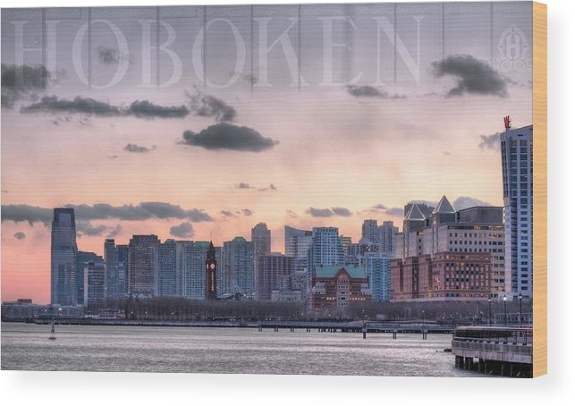 Hoboken Wood Print featuring the photograph Hoboken by JC Findley