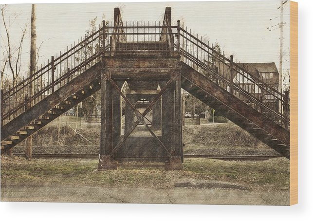Old Bridge Wood Print featuring the photograph Old Bridge by Steven Parks