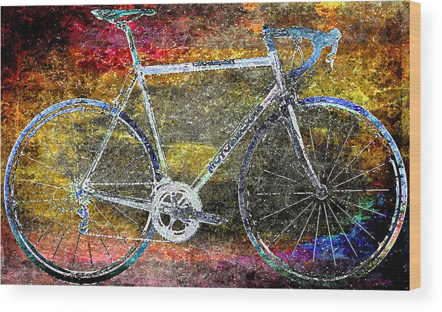 Bicycle Wood Print featuring the photograph Le Champion by Julie Niemela
