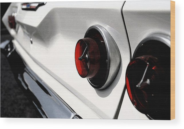 Car Wood Print featuring the photograph Old Chevy by Cabral Stock