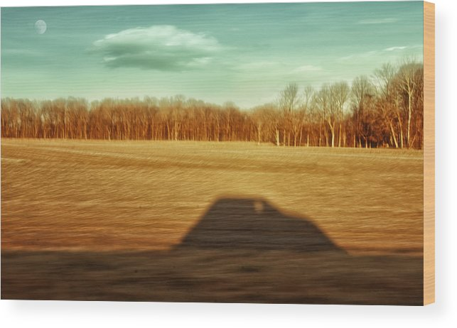 Driving At Sunrise Wood Print featuring the photograph I've Been Everywhere Man by Steven Michael