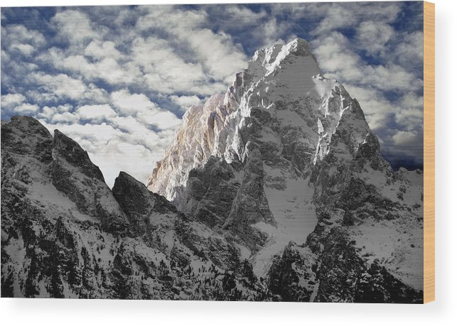 Landscape Wood Print featuring the photograph Grand by Karl Manteuffel