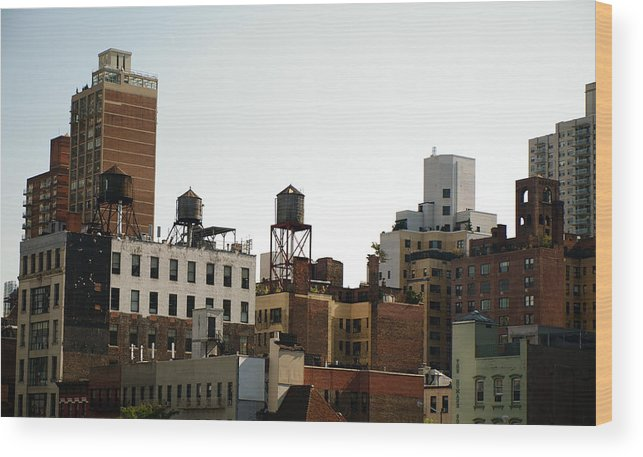 Love It Wood Print featuring the photograph NYC by Kareem Farooq