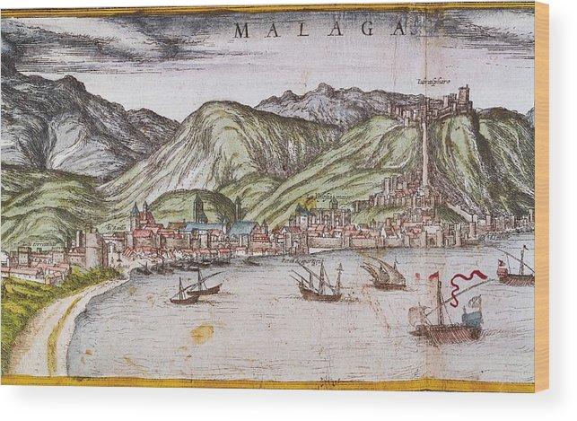Horizontal Wood Print featuring the photograph Ortelius, Abraham 1527-1598 Braun by Everett
