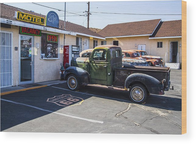 Route 66 Wood Print featuring the photograph Studebaker by Angus Hooper Iii