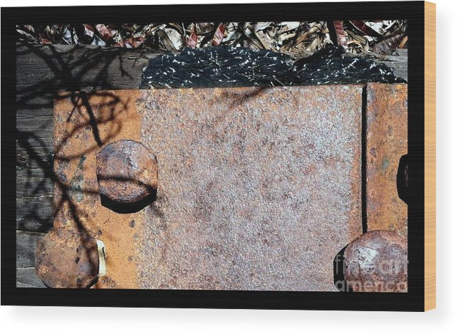 Marlene Burns Wood Print featuring the photograph Streets Of Tucson 155 by Marlene Burns