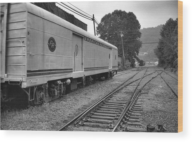 Trains Wood Print featuring the photograph American Federail by Richard Rizzo