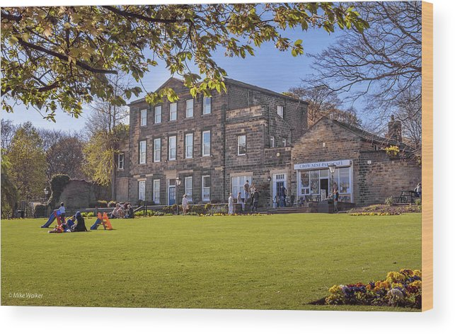 Crownest Park Wood Print featuring the photograph Dewsbury Museum by Mike Walker