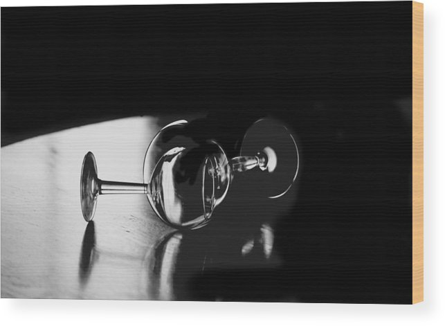 Photography Wood Print featuring the photograph Glass Within Glass by Tom Fant