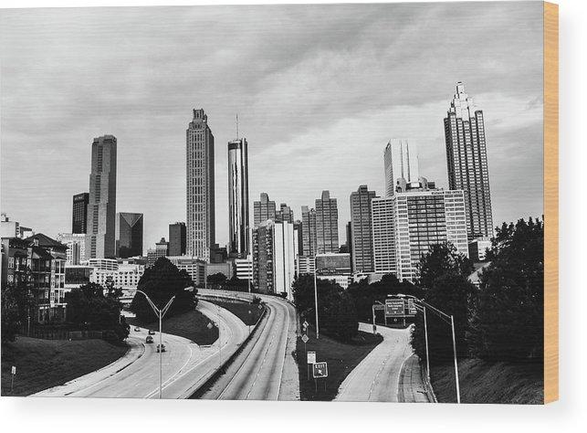 Atlanta Wood Print featuring the photograph Atl by Kennard Reeves