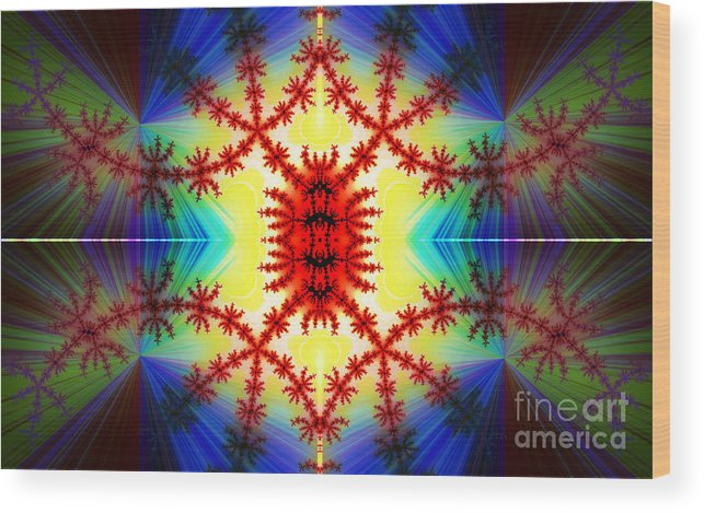 Clay Wood Print featuring the digital art The Light Within by Clayton Bruster