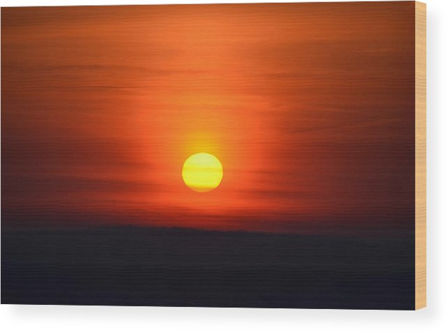 Morning Wood Print featuring the photograph Morning Comes A New Day by Bill Cannon