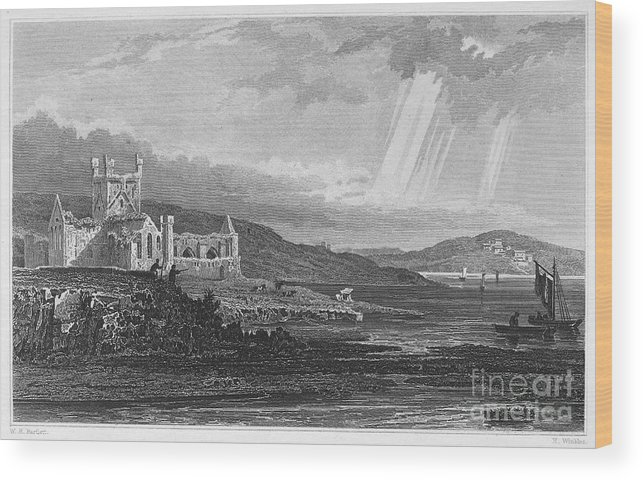 13th Century Wood Print featuring the photograph Ireland: Dunbrody Abbey by Granger