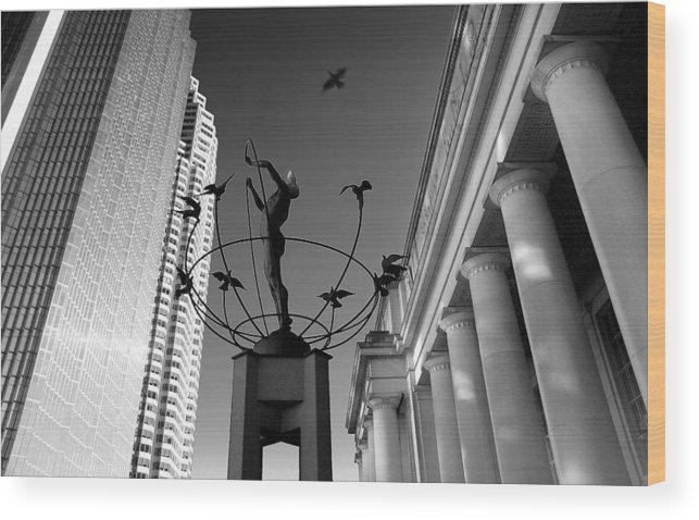 Toronto Wood Print featuring the photograph Union Station by John Bartosik