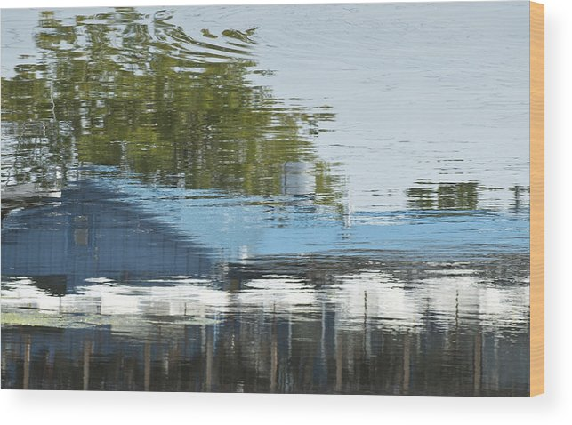 Wood Print featuring the photograph Boathouse Restaurant by Michael Rutland