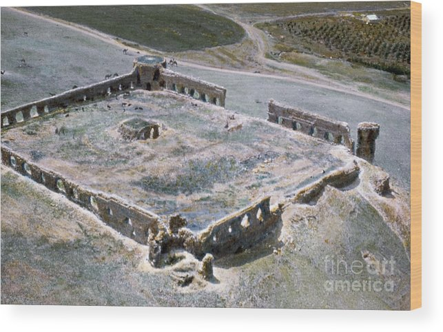 1950s Wood Print featuring the photograph Holy Land: Caravansary by Granger