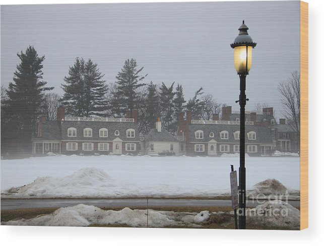 Wicked New England Photography Wood Print featuring the photograph Winters Light by Michael Mooney