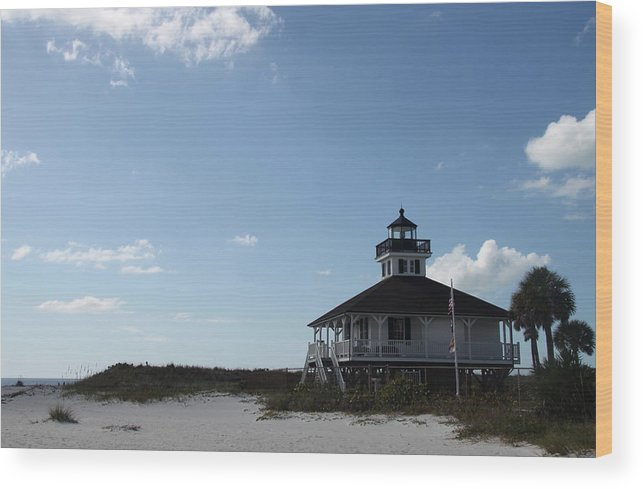 Boca Grande Wood Print featuring the photograph Boca Grande At Twiglight by Christiane Schulze Art And Photography