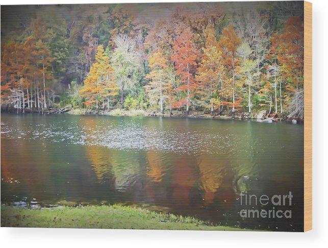 Arkansas Wood Print featuring the photograph Arkansas Beauty by Kim Henderson