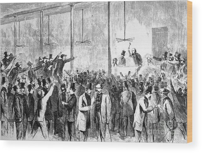 1860s Wood Print featuring the photograph Civil War Profiteering by Granger