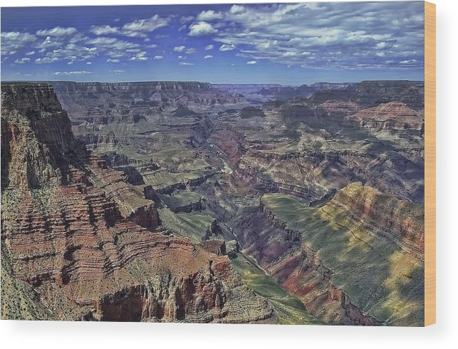 South Wood Print featuring the photograph The Grand Canyon by Renee Hardison