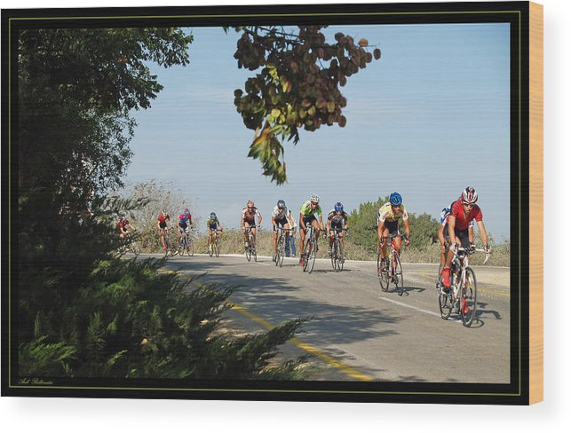 Bicycle Wood Print featuring the photograph Bicycle Race by Arik Baltinester