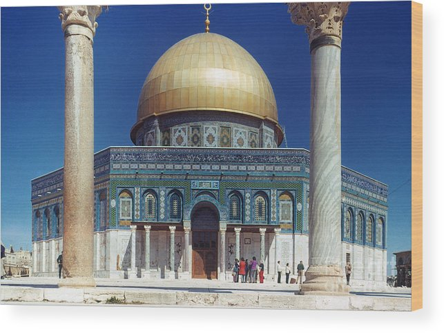 Building Wood Print featuring the photograph Dome Of The Rock by Granger