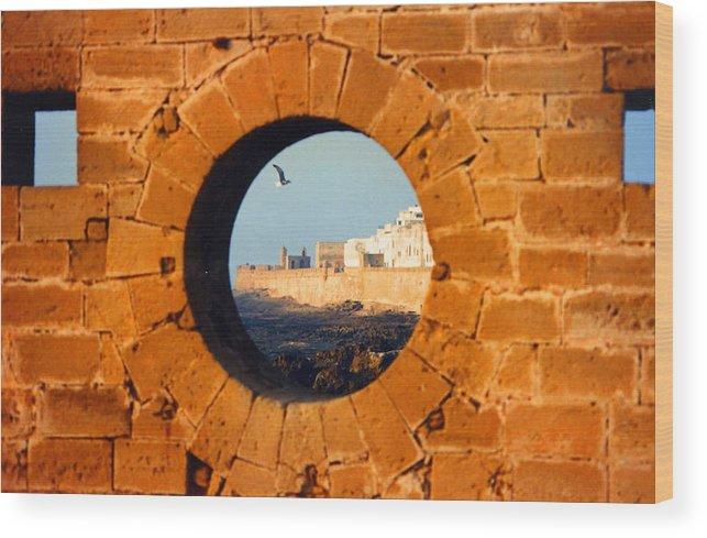 Africa Wood Print featuring the photograph Eye Of The Beef Essaouira Mogador by Robert M Brown II