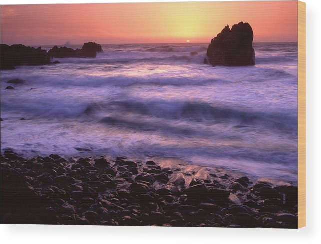 California Wood Print featuring the photograph False Klamath Cove by Eric Foltz
