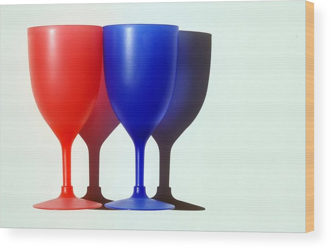 Photo Wood Print featuring the photograph Goblets by Dan Holm