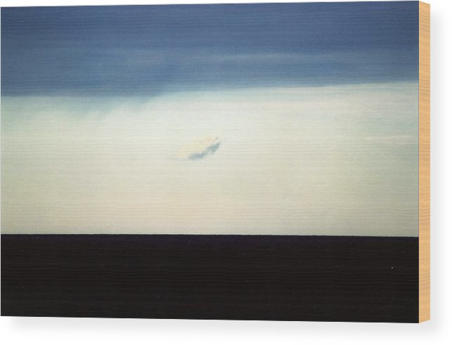Landscape Wood Print featuring the photograph Horizontal Number 20 by Sandra Gottlieb