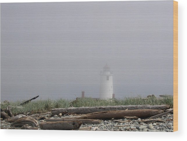 Lighthouse Wood Print featuring the photograph Lighthouse by Ty Nichols