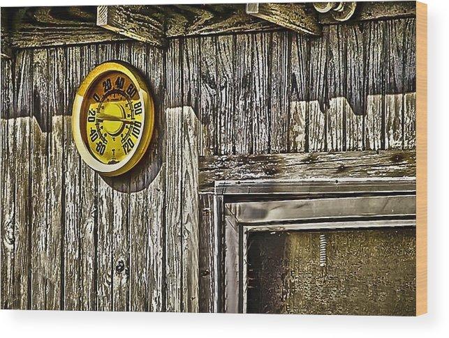 Ninety Plus Wood Print featuring the photograph Ninety Plus by Greg Jackson