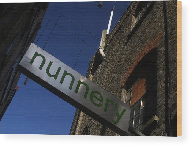 Jez C Self Wood Print featuring the photograph Nunnery 2 by Jez C Self