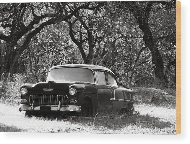 Americana Wood Print featuring the photograph Resting Amongst The Oaks by Marilyn Hunt