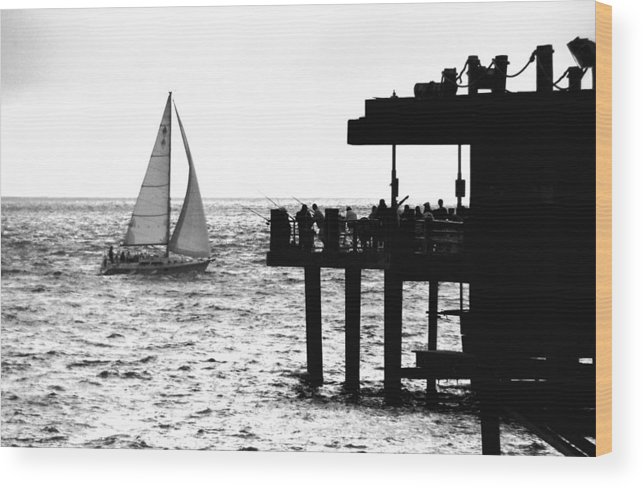 Boat Wood Print featuring the photograph Returning by Val Jolley