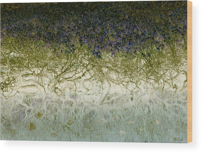 Landscapes Wood Print featuring the photograph River Of Life by Holly Kempe